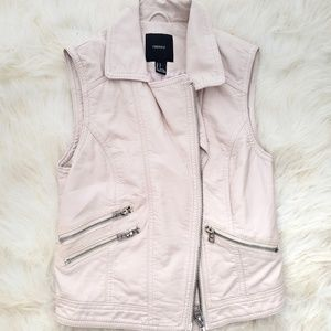 Leather-like Vest